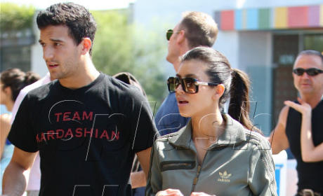 Spotted: Kim Kardashian and Mark Ballas Shopping