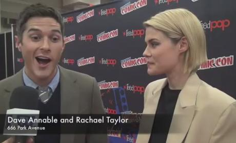 Dave Annable and Rachael Taylor Interview