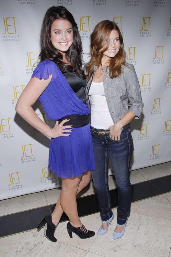 Ashley and Joanna at JET