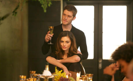 Klaus with Hayley