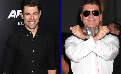 Tournament of TV Fanatic: Max Greenfield vs. Simon Cowell!