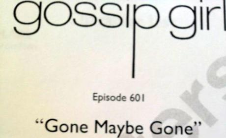 Gossip Girl Season 6 Premiere Script