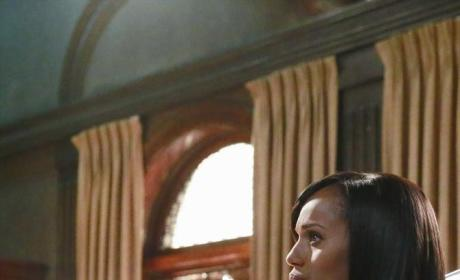 Olivia in Thought - Scandal Season 4 Episode 9