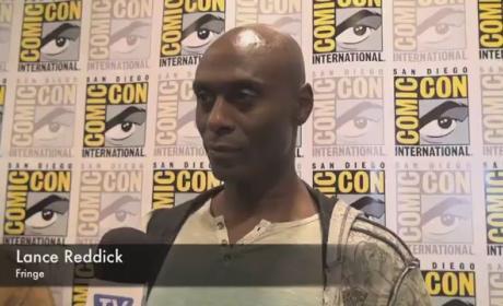 Lance Reddick Comic-Con Interview