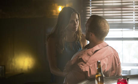 Elena at the Bar - The Vampire Diaries