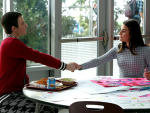 Kurt and Rachel's First Meeting - Glee Season 6 Episode 12