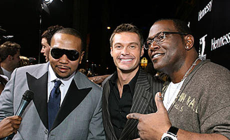 American Idol Pictures of the Day: Jennifer Hudson, Ryan Seacrest, Randy Jackson Live it Up