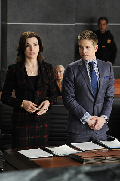 Alicia and Cary in Court