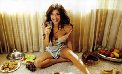 Jessica Szohr Indulges in Men's Health