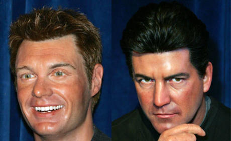 Simon Cowell and Ryan Seacrest: Forever in Wax