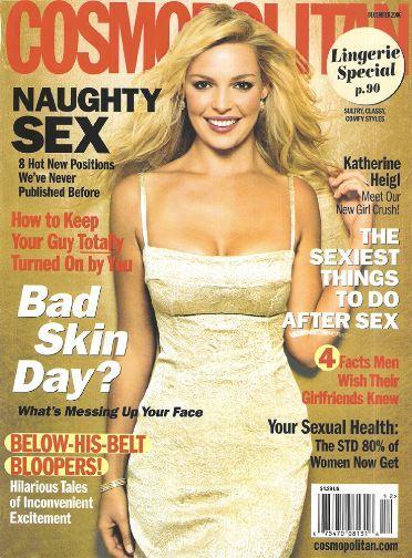 Katherine Heigl: Cosmopolitan Cover Girl