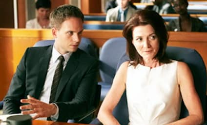 Michelle Fairley on Suits: First Look!