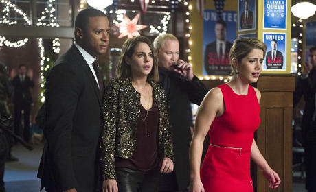 Arrow Photo Preview: Horror at the Holiday Party