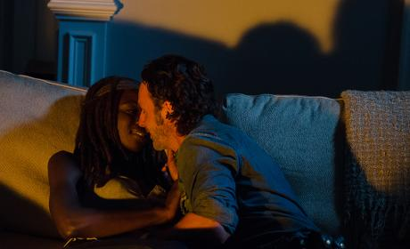 Rick and Michonne - The Walking Dead