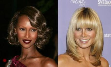 Iman Talks Trash to Heidi Klum