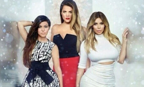 Kim, Khloe and Kourtney