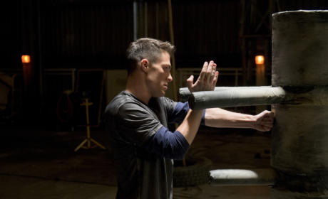 Arrow Photo Gallery: Roy in Training