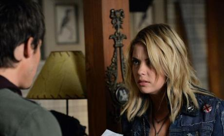 Is Hanna Showing Caleb Zack's Number?