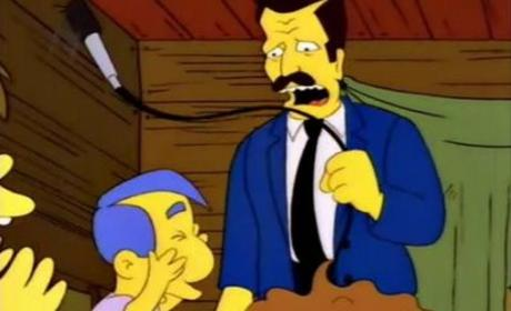 Robert Goulet on The Simpsons