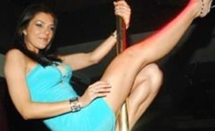 Adrienne Curry Showcases Mad Pole Dancing Skills