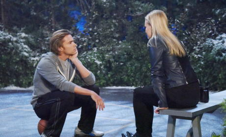 Philip Comforts Belle - Days of Our Lives