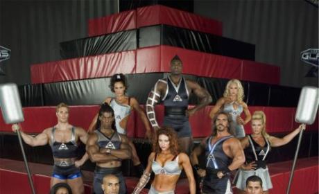 Evan Dollard and Monica Carlson: Champions of American Gladiators