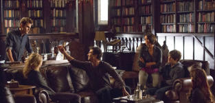 The Vampire Diaries 100th Episode Pics