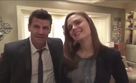Bones Interviews: David Boreanaz & Emily Deschanel