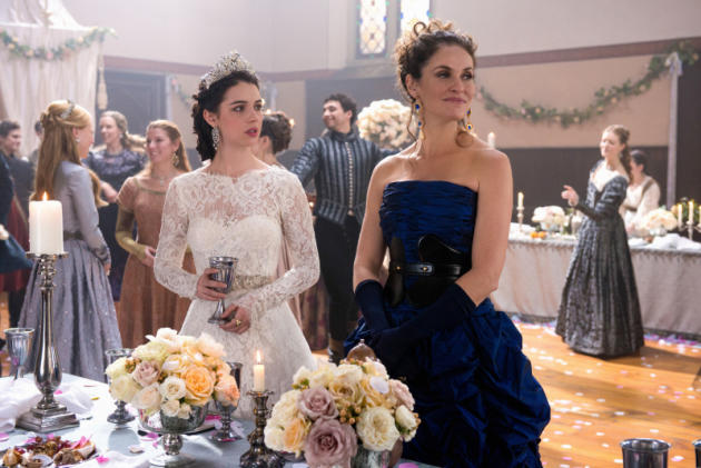 Mother and Daughter at the Wedding