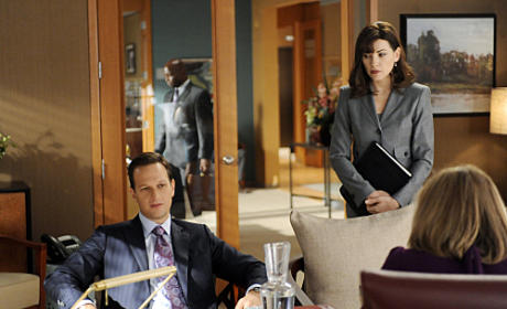 The Good Wife Season 3 Premiere Pics: Work and Pleasure?