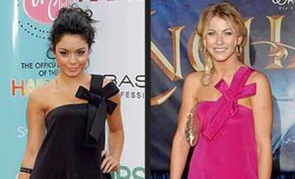 Celebrity Fashion Face-Off: Julianne Hough vs. Vanessa Hudgens