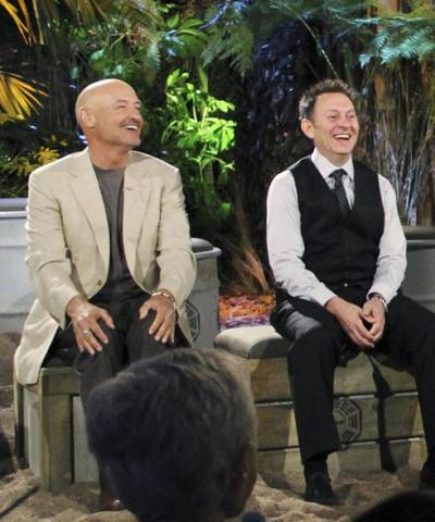 Michael Emerson and Terry O'Quinn