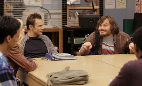 Coming to Community: Jack Black and Cheerleader Uniforms
