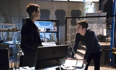 Harry 'n' Barry - The Flash Season 2 Episode 12