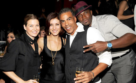 Kate Walsh, Taye Diggs and Pals Party On