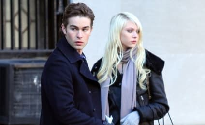 Spotted on Set: Jenny and Nate