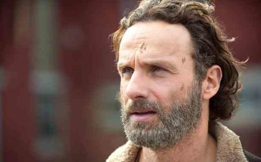 Rick Grimes Up Close