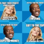 House of Lies Posters
