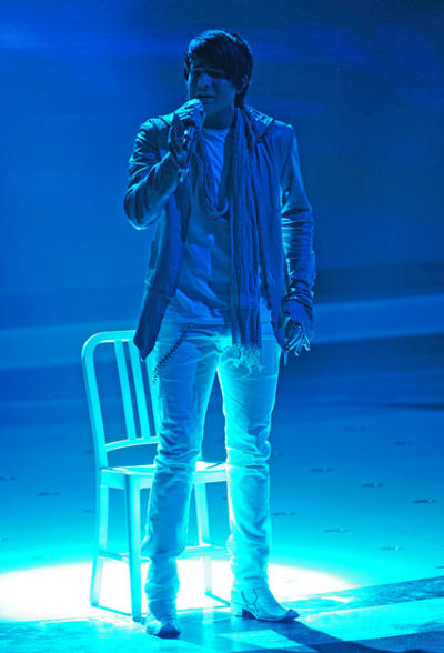 Adam Lambert Performance Pic
