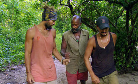 Grant, Russell and Rob Strategize