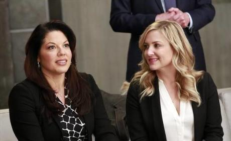 Grey's Anatomy: Jessica Capshaw Tweets Warm Goodbye to Sara Ramirez