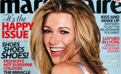 Blake Lively Covers Marie Claire UK