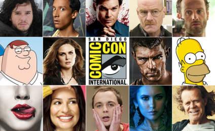 Comic-Con 2012: Final TV Show Schedule