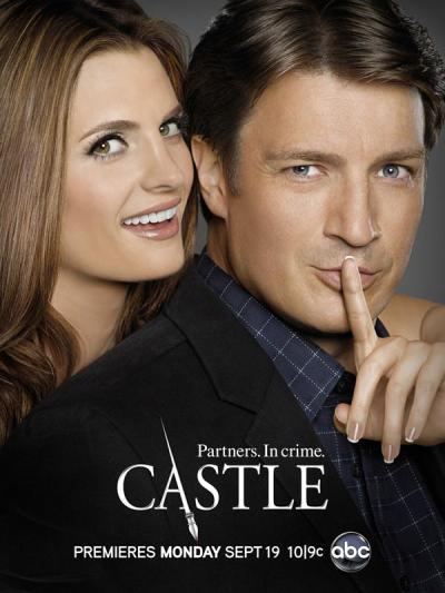 Castle Season 4 Poster