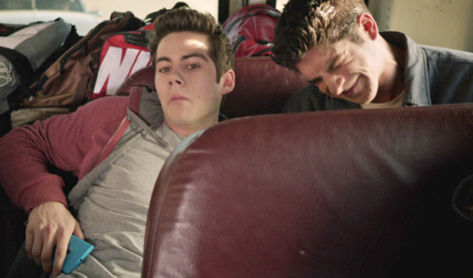 Scott and Stiles in Hiding