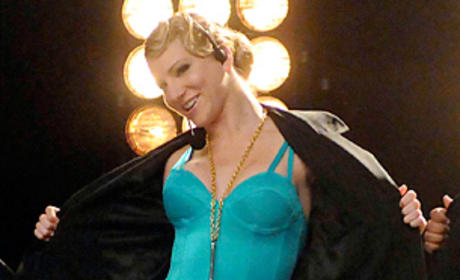 Heather Morris Previews Possible Glee Romance