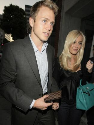 Heidi and Spencer at Mr. Chow