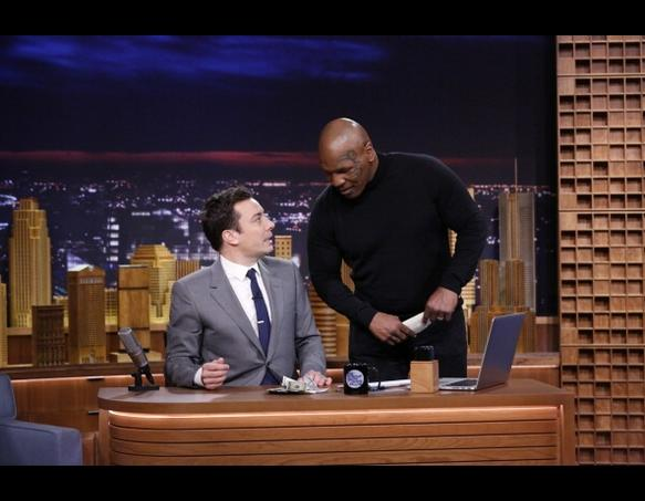 Mike Tyson on The Tonight Show