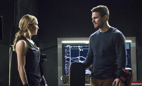 Time for Conversation - Arrow Season 4 Episode 11