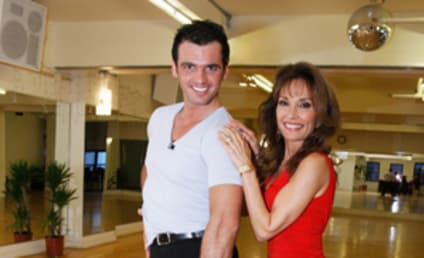 Tony Dovolani and Susan Lucci: The First Photo